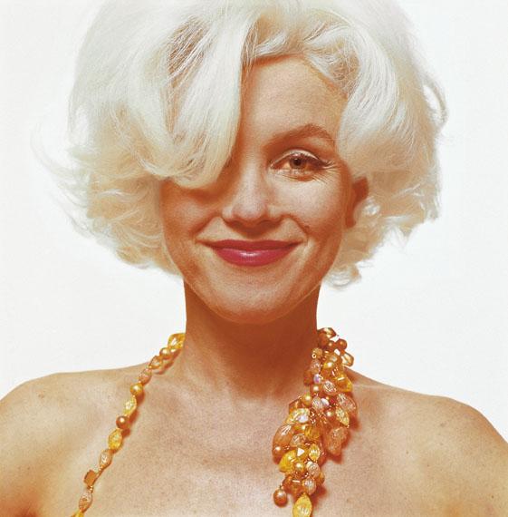 Marilyn Monroe, Portrait mit Kette, 1962 © Bert Stern/Courtesy Sammlung Reichelt und Brockmann Mannheim