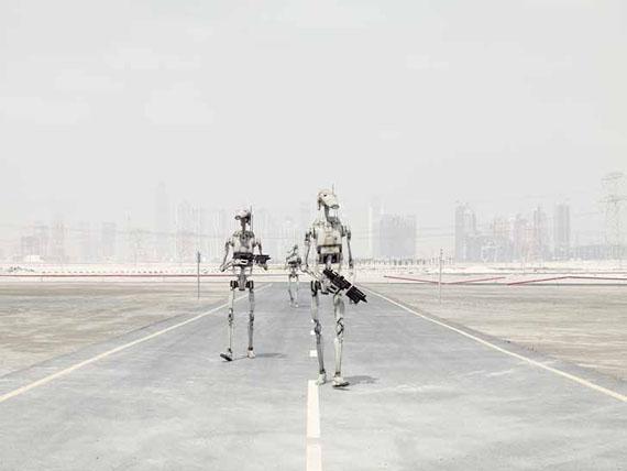 Dark Lens, Battles Droid's Rounds,Dubai, 2010© Cédric DelsauxCourtesy Acte 2 Photo