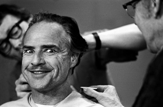 © Steve Schapiro, Marlon Brando, Godfather Makeup, New York, 1971
