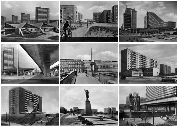 Original postcards German Democratic Republic, Collection Schröter