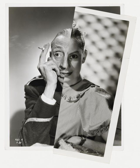 Muse (Film Portrait Collage) XIII 2012. © John Stezaker. Courtesy The Approach Gallery, London, and Galerie Gisela Capitain, Cologne